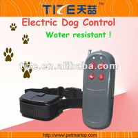 4 in 1 remote dog training collar TZ-PET998C Training collar for dog With static impulse & warning vibration