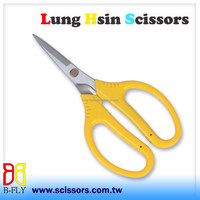SK5 High Carbon Steel PVC Handle Garden Scissors Made in Taiwan