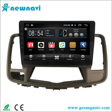 10.2 inch big touch screen car radio android 6.0 car dvd with gps for Nissan Teana 2009