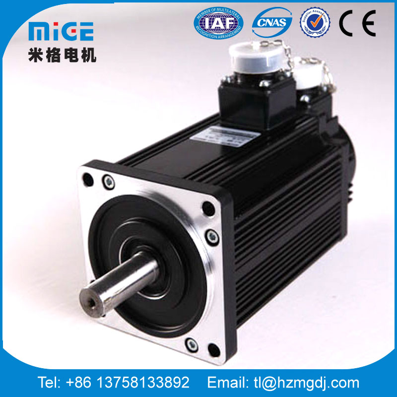 1200W brushless fast reaction PM ac servo motor for machine use