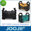 New model worksite bluetooth speaker with radio for 2017