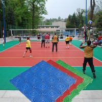 Top Grade Promotion Personalized outdoor volleyball court flooring