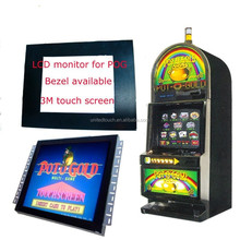 Digital High Resolution 17 inch Touch Screen infrared open frame monitor With Windows Android Linux System