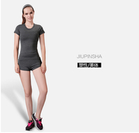 Wholesale Women Fitness Exercise Training Top And Pant / GYM wear / Yoga Clothing/Sportswear