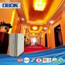 Eco friendly lightweight fireproof boat interior wall material for building