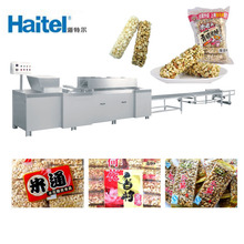Automatic Peanut Candy And Rice Cake Bar Making Machine Production Line