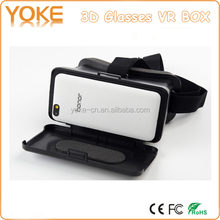 Plastic Virtual Reality Video Google VR 3D Glasses for Android iOS 5.5-6.3inch Smart Phones