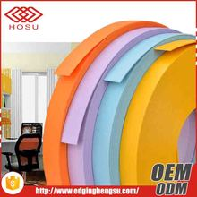 Custom high quality wholesale plastic furniture edge strip PVC edge banding tape