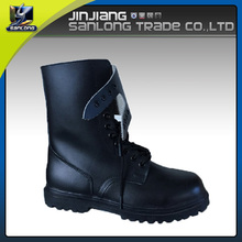 2016 wholesale new design genuine leather military safety shoe