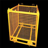 2015 hot sale!!!high quality military security wall/hot dipped galvanized hesco barrier with scage/storage pallet container cage