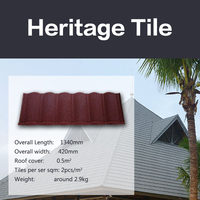 High quality durablity Amazing economy stone coated steel roofing tile