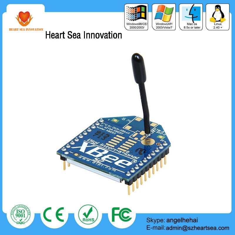 Hot offer 2.4 GHz XBee 1mW module with wire antenna-series 2