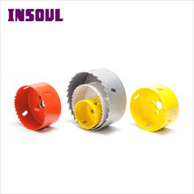 INSOUL Stainless Steel Pipe Bi-Metal Hole Saw Cutter Bits