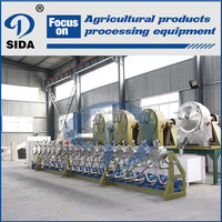 Pure sweet potato starch production equipment line processing machinery