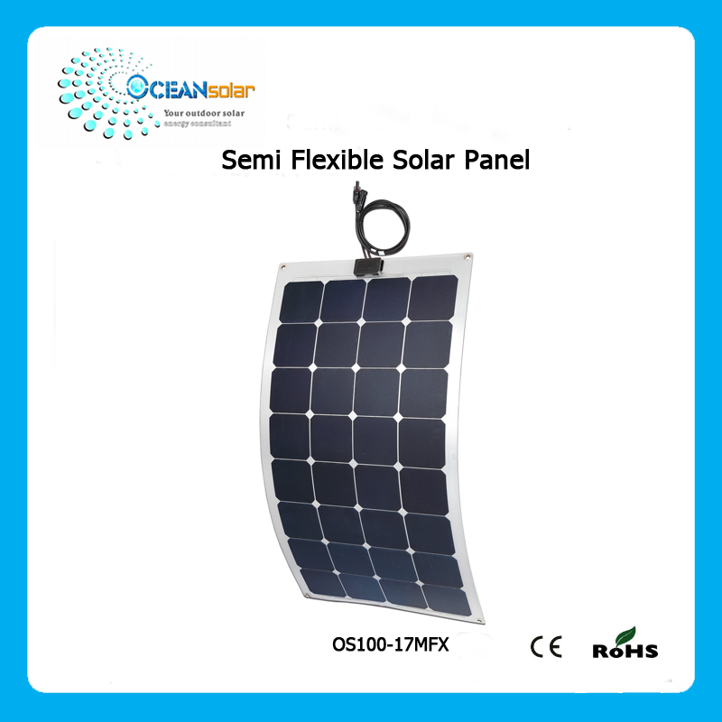 Customized caravan accessories flexible solar panel with high performance
