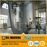Sunflower soy bean rice bran cooking oil solvent extraction machine
