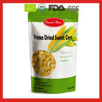 Freeze Dried Sweet Corn Kernel Cut Corn for New Crop Golden Supplier