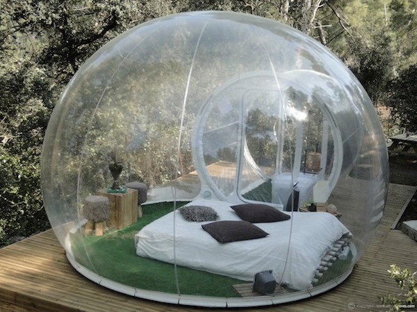 Diameter 5meter new product clear inflatable yurt transparent bobble tent for sale