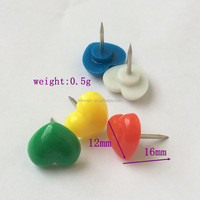 Best Selling Heart Shaped Head Push Pin For Promotion With 16mm Size In Bulk Price