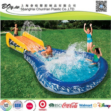 Suppler children game by avner-toys banzai wave water inflatable crasher surf slide
