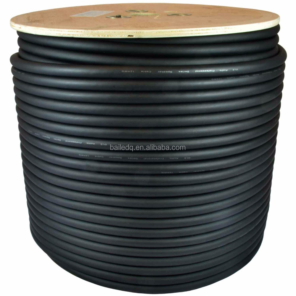 PVC Rubber flexible power cord cable roll