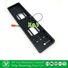 Hot selling EU license plate frame with LED rear camera and parking line, reversing camera (XY-1650)