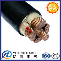 0.6|1kv low voltage 5c xlpe cable power cable manufacture