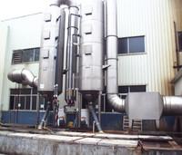 air scrubber for gas disposal