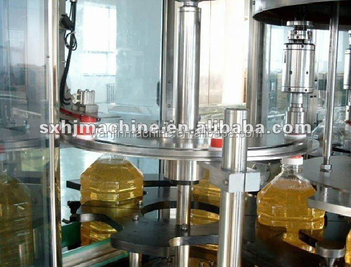 full automatic sunflower oil filling factory