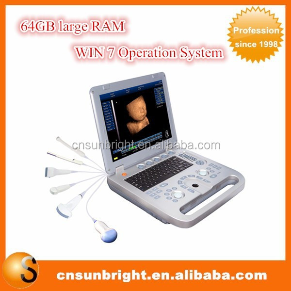 Low Price for Real Time 3D 4D laptop ultrasound/best hand-carried 4D Ultrasound Machine