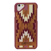 Lowest Price!Wholesale Fancy Original Wood Mobile Phone Cases For Apple Iphone6 Cherry