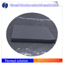 Self-sticky thermal insulation silicone sheets