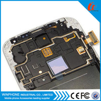 100% original Spare parts lcd touch screen for samsung galaxy S4 i9500 gt-9505 display panel replacement and digitizer