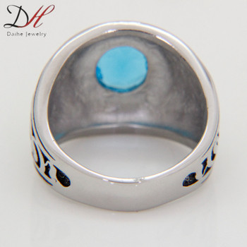 DAIHE 2016 new design fashion oem finger ring designs men
