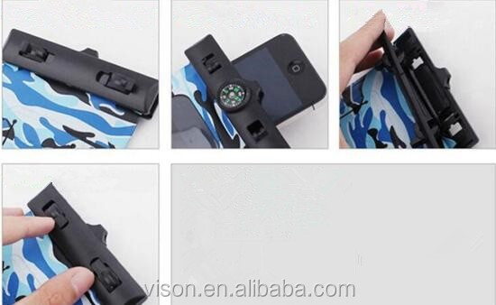 Promotional Colorful Low Price Swimming Waterproof Phone Bag