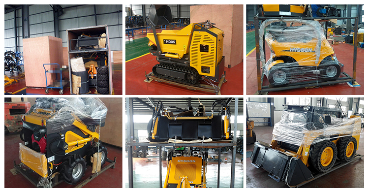 HYSOON farm mini earth hole drilling machine HY380 with auger