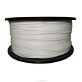 Dimensional Accuracy +/-0.02mm 2.2 LBS 1KG Spool White 1.75 mm PLA 3D Filament for Most 3D Printer 3D Printing Pen