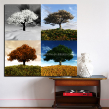 beautiful landscape framed custom canvas prints with glitter