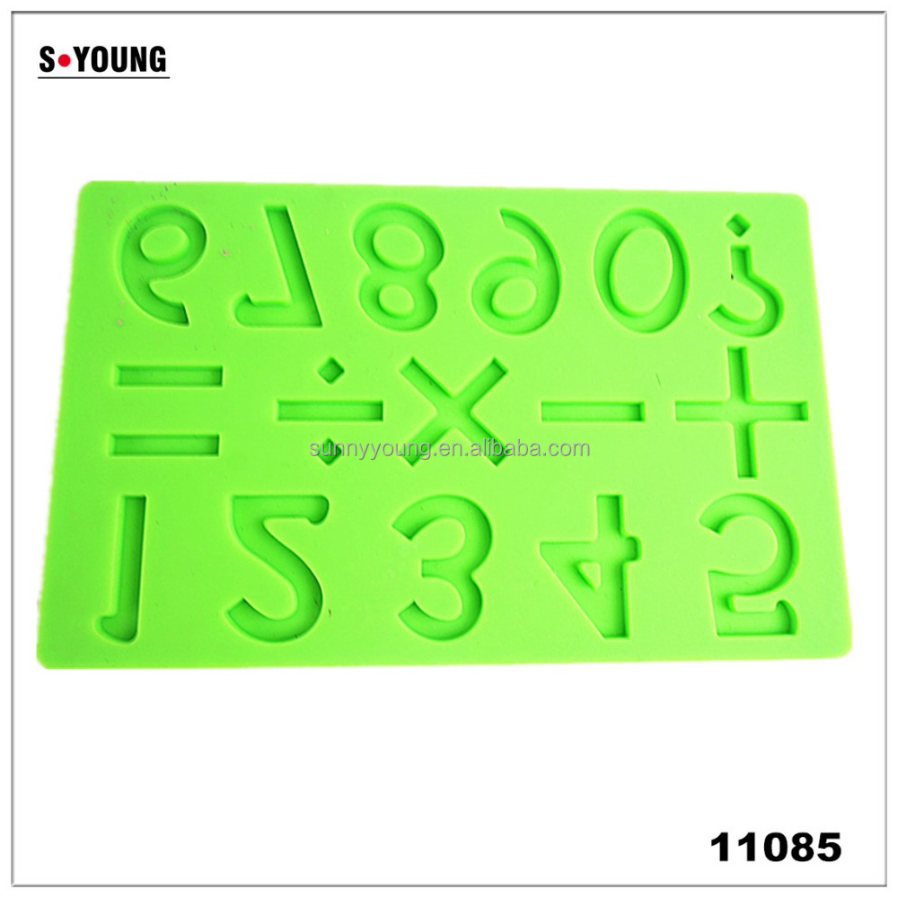 11085 3d Christmas Trees Stars Chocolate Mold Cookies Candy Mold Party Gift Silicone Cake decorating fondant Mold