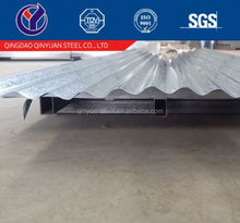 zinc coated corrugated steel sheet for roof price