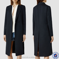 custom made clothing manufacturers fashion clothing shearling coat latex trench coat