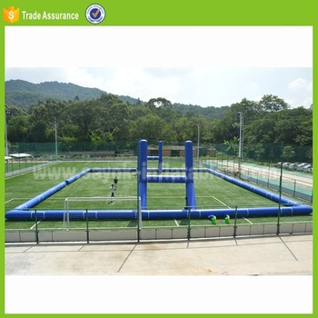 cheap inflatable soccer arena inflatable soap football field