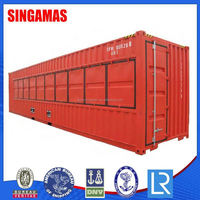 High Quality Cap Family Living Prefabricated Container House