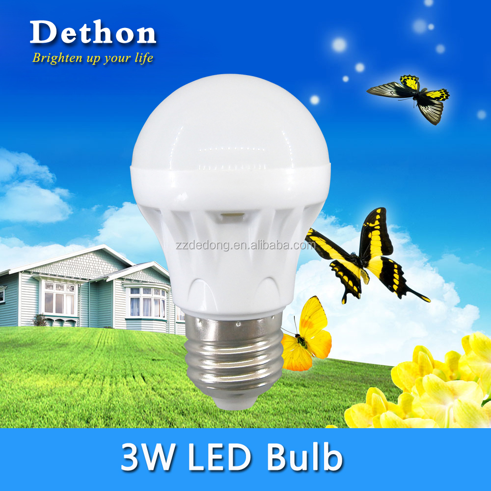 AC160-250V 3W E27 B22 LED Bulb for Home Lighting
