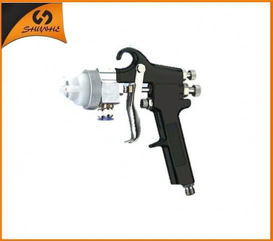 2015 zhejiang newe type best double nozzle 1.5mm nozzle pilot spray gun price paint bullet