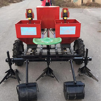 mini tractor potato fertilizing planter