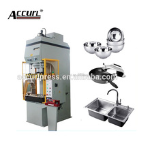 Deep drawing hydraulic press for 25ton JH21 fixed table small power press