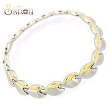 Leaf Jewelry Stainless Steel Chain Hand Harness Bracelets
