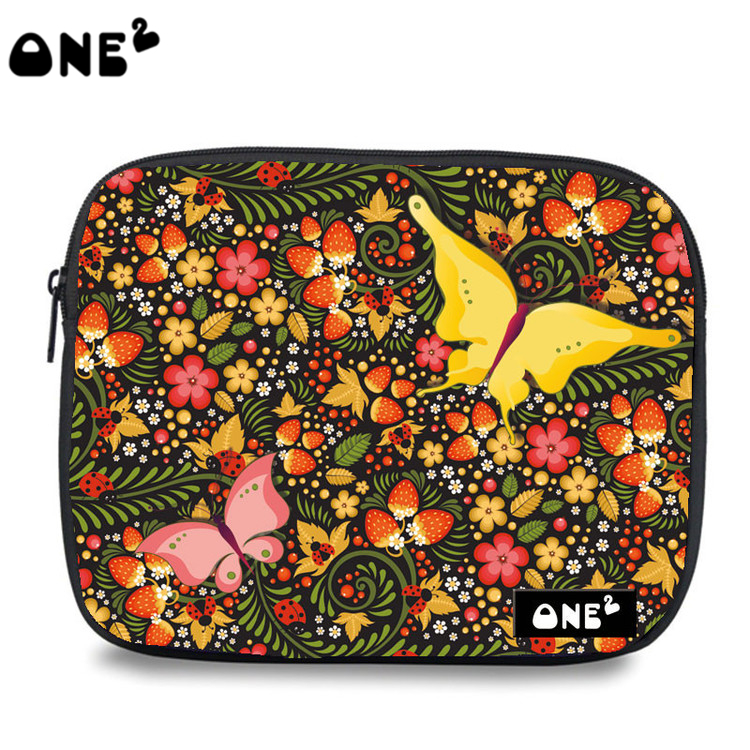 ONE2 design butterfly waterproof and shockproof laptop sleeve case bags