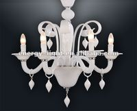 2015 White chandelier lighting/lamps with UL certificate